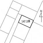 【売土地】本部町北里147.3坪/農振地域外 画像2