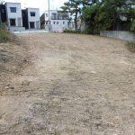 【売土地】恩納村名嘉真131坪/南道路接道、樹木伐採済